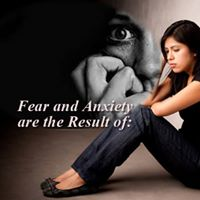 Fear and Anxiety result from an anticipation of events that have not yet happened or those thoughts we harbor in our mind.