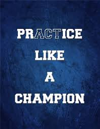 Practice like an athlete
