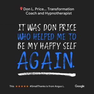 Don L. Price helped me to be my happy self