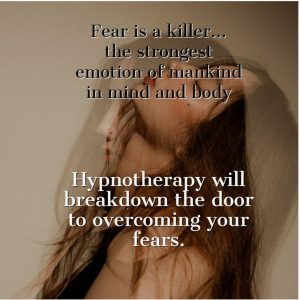 hypnotherapy for fear