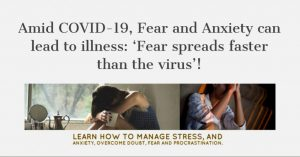Fear and Anxiety Leads to Illness