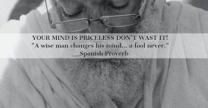 your mind is priceless
